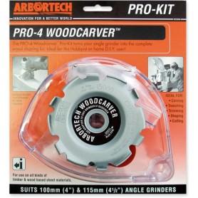 Ensemble complet Woodcarver Pro - disque de dégrossissage pour la sculpture sur bois