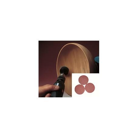 Disques abrasifs 75mm 120gr par 10