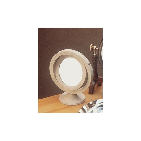 Miroir Bord Poli 90mm