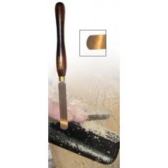 Ciseau à racler arrondi 12mm HAMLET