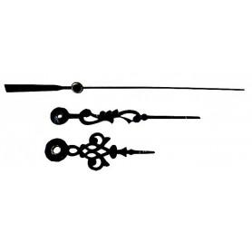 Aiguilles modèle serpentine (lot de 5)