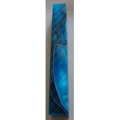 Acrylique pour stylo bleu turquoise