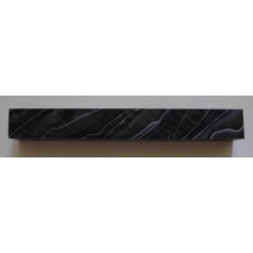 Acrylique pour stylo noir/mauve