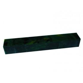 Acrylique stylo et incrustation Vert