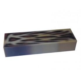 Acrylique stylo et incrustation Léopard