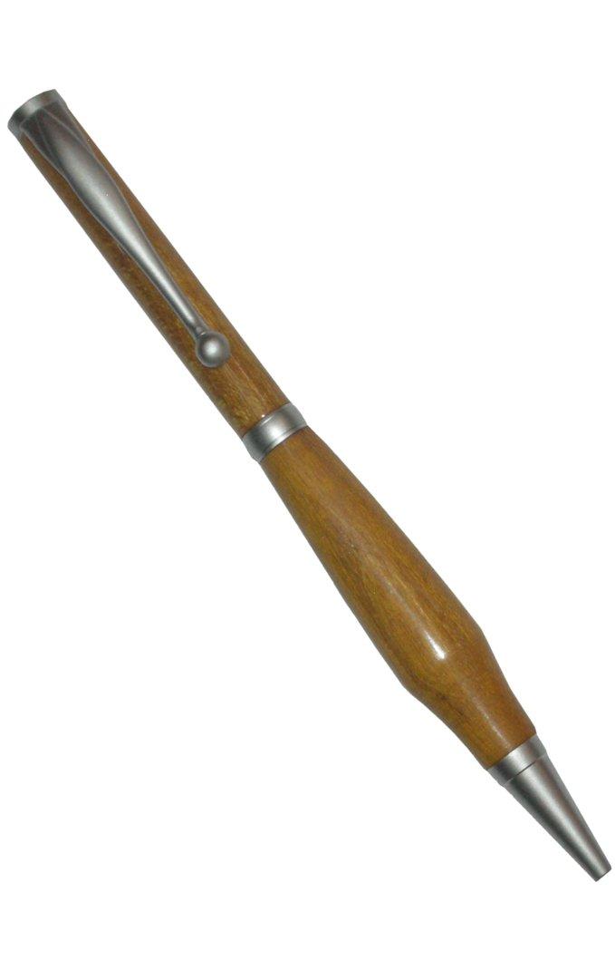 Mécanismes stylos à bille satiné chromé