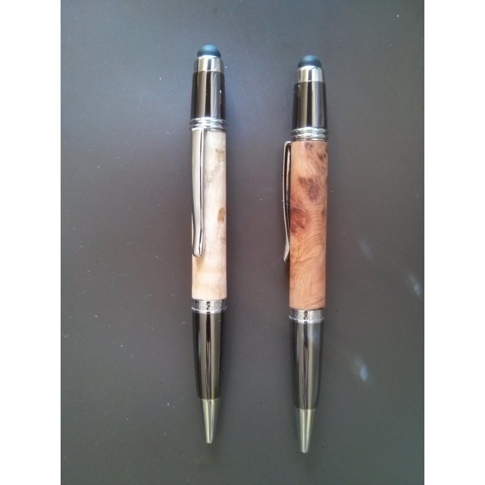 Mécanisme stylo bille Sierra tactile Maison Du Tournage # Mécanisme Stylo Bois