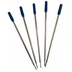 Recharges encre bleue stylos bille