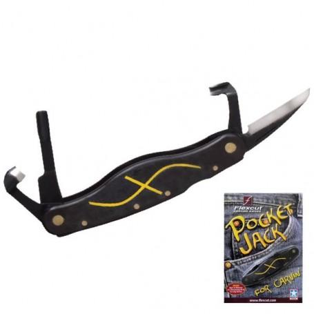 Couteau le tout en un de poche flexcut maison du tournage - Sculpture au couteau ...