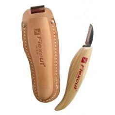 Couteau de sculpture Flexcut avec étui