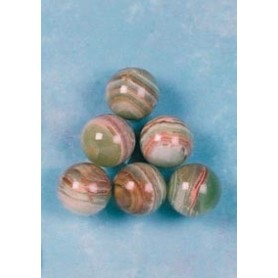 Billes marbre Onyx ø 25mm (lot de 6)