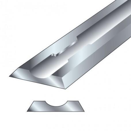 Paire fers de rabot 80,5x5,9x1,2mm