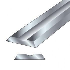 Paire fers de rabot 75,5x5,5x1,1mm