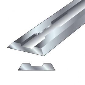 Paire fers de rabot 82x5,5x1,1mm