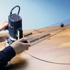 Compas pour défonceuse 610mm