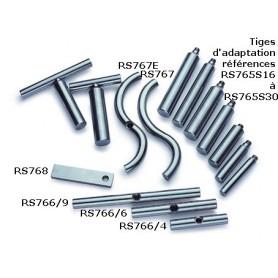 "Porte-outils courbé intérieur 9"" (env.225 mm) Robert SORBY"