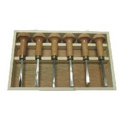 Coffret 6 outils de sculpture Champignons