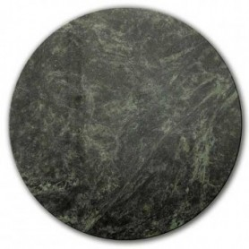 Plat en marbre vert 150mm