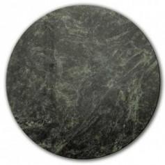 Plat en marbre vert 200mm