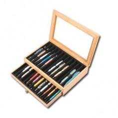 Coffret transport et présentation 24 stylos
