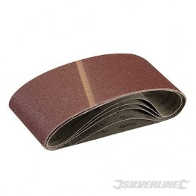5 bandes abrasives 100 x 610mm