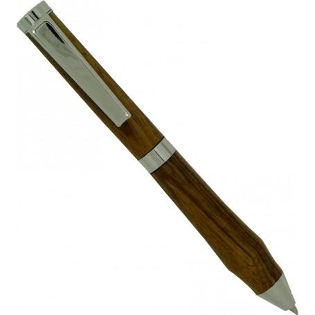 Mécanisme stylo à bille chromé format CB