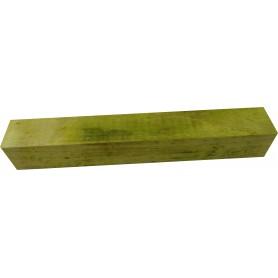 Carrelet de bois stabilisé vert