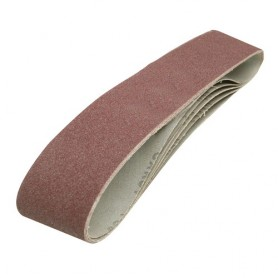 5 bandes abrasives 914 x 100 mm Grain 120