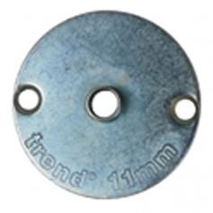 Douille de guidage en acier OD 11,1 x ID 9mm TREND