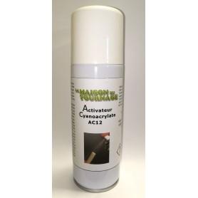 Activateur pour colles cyanoacrylates aérosol 200 mL