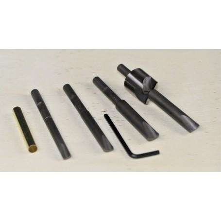 Ensemble calibreur pour tubes à stylos