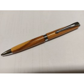Mécanisme stylo bille fantaisie chromé