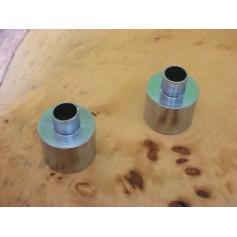 Bagues pour stylo à bille chrome à poussoir Grip IB642