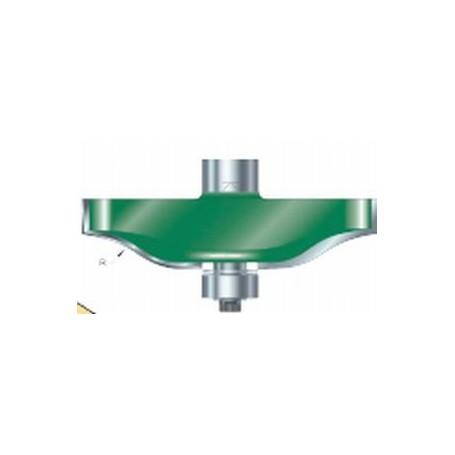 Fraises à plate-bandes guidée, tige 12,7mm, diam 67mm