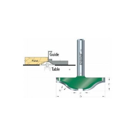 Fraises à plate-bandes, tige 12,7mm, diam 50mm