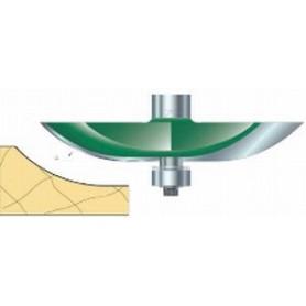 Fraises à plate-bandes guidée à rayon, tige 12,7mm