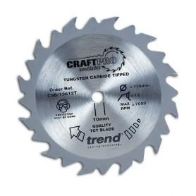 Lame de scie circulaire 138mm x Z 24 x 10 mm