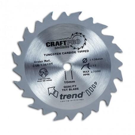 Lame de scie circulaire 165mm x Z 12 x 30 mm