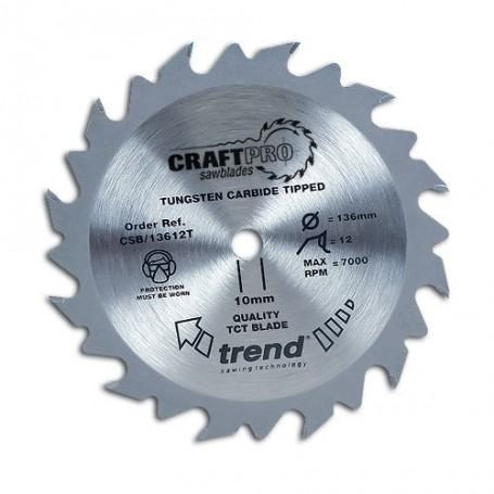 Lame de scie circulaire 190mm x Z 24 x 30 mm