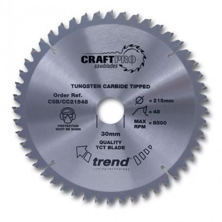 Lame de scie à tronçonner Craft 350mm x108 Z x 30mm