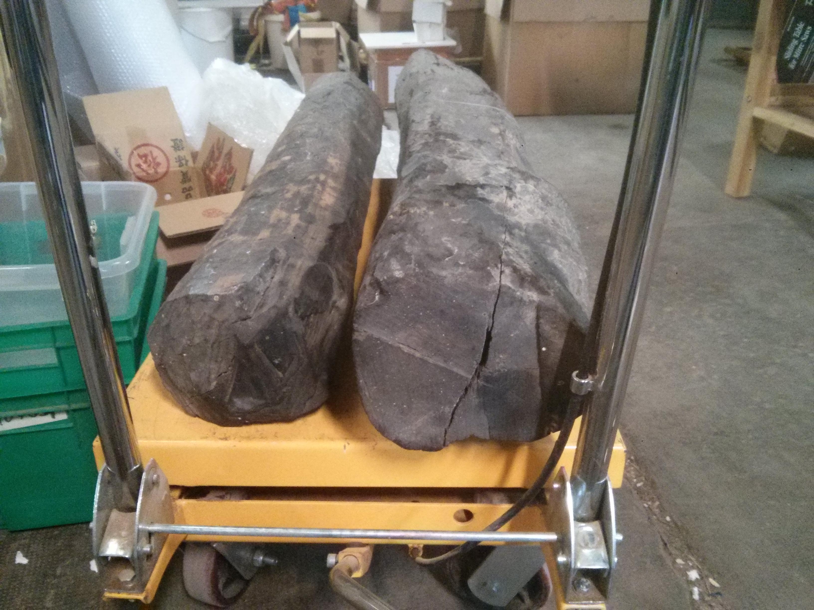 Arrivage de bois pour le tournage, la sculpture et l'ébénisterie